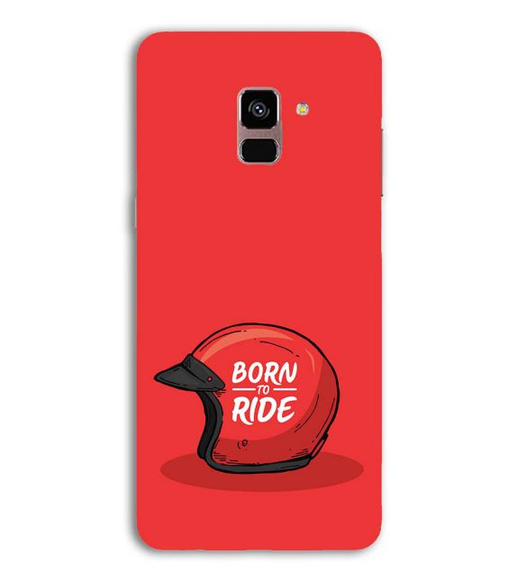 Born 2 Ride Back Cover for Samsung Galaxy A8 (2018)