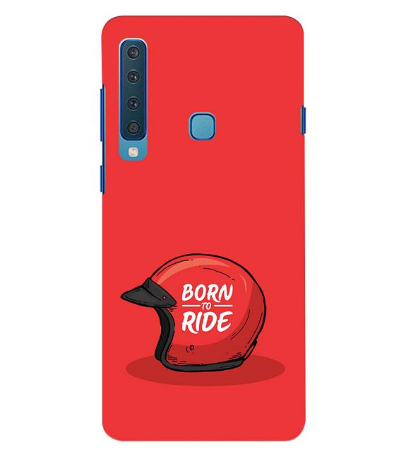Born 2 Ride Back Cover for Samsung Galaxy A9 (2018)