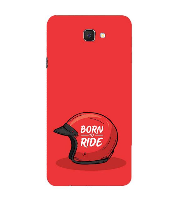 Born 2 Ride Back Cover for Samsung Galaxy C9 Pro