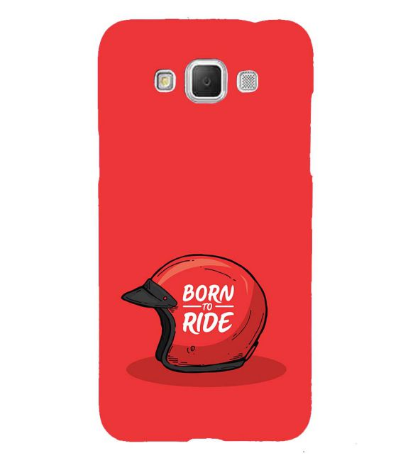 Born 2 Ride Back Cover for Samsung Galaxy Grand Max G720