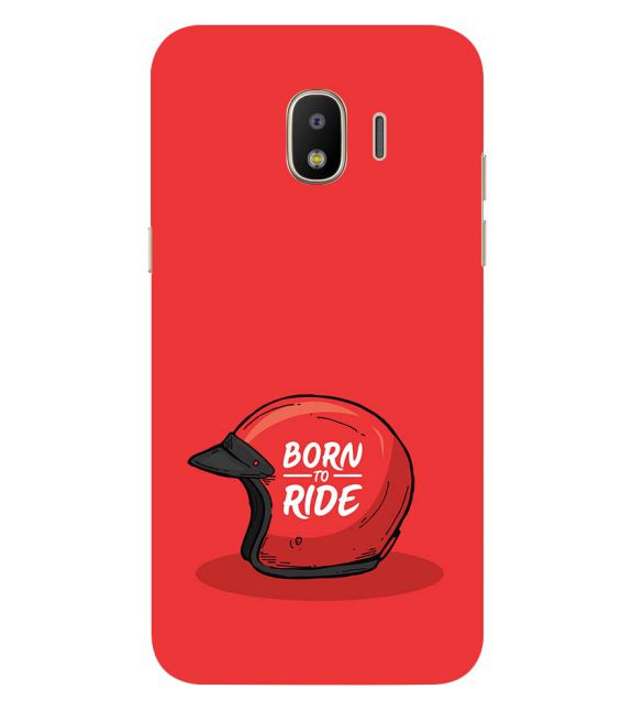 Born 2 Ride Back Cover for Samsung Galaxy J2 (2018)