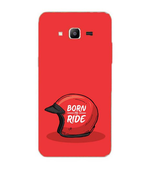 Born 2 Ride Back Cover for Samsung Galaxy J2 Prime