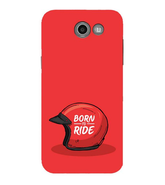 Born 2 Ride Back Cover for Samsung Galaxy J7 (2017)