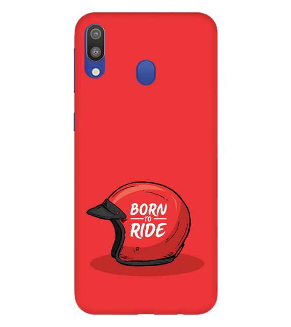 Born 2 Ride Back Cover for Samsung Galaxy M20