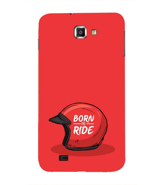 Born 2 Ride Back Cover for Samsung Galaxy Note N7000