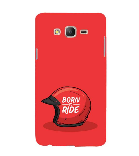 Born 2 Ride Back Cover for Samsung Galaxy On7 and On 7 Pro