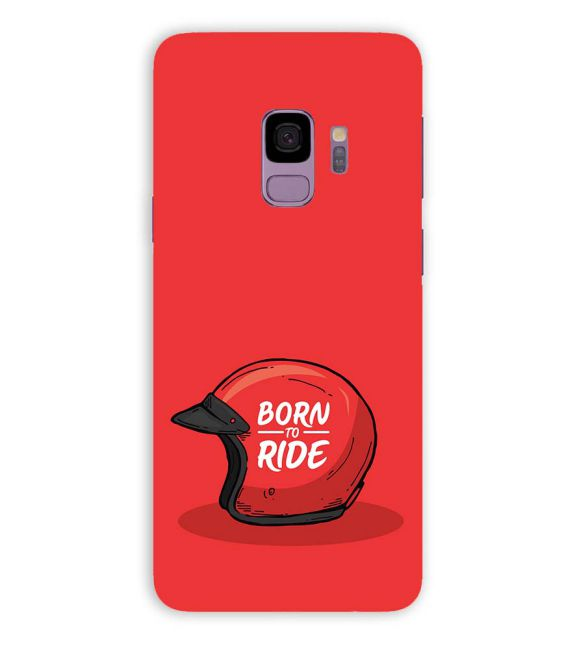Born 2 Ride Back Cover for Samsung Galaxy S9