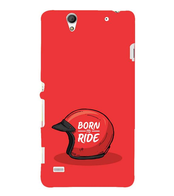 Born 2 Ride Back Cover for Sony Xperia C4