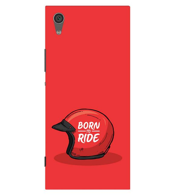 Born 2 Ride Back Cover for Sony Xperia XA1 Plus
