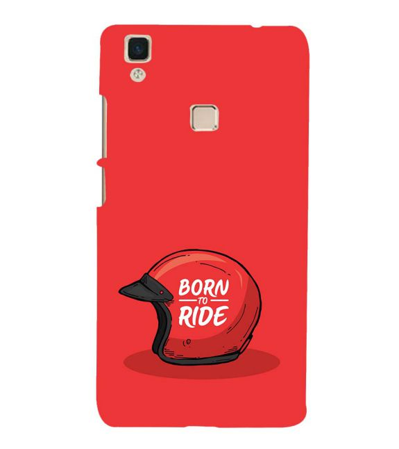 Born 2 Ride Back Cover for Vivo V3Max