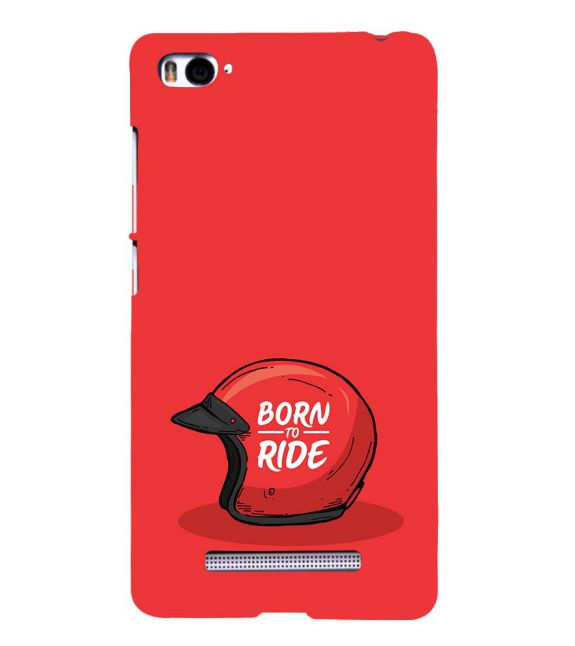 Born 2 Ride Back Cover for Xiaomi Mi 4i