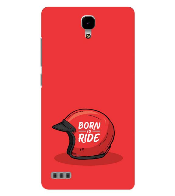 Born 2 Ride Back Cover for Xiaomi Redmi Note 4G