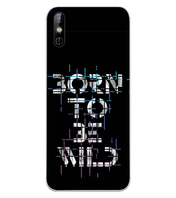 Born to Be Wild Back Cover for Tecno Spark Go