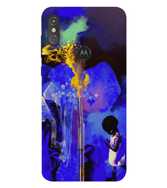 Brightest One Back Cover for Motorola One Power (P30 Note)
