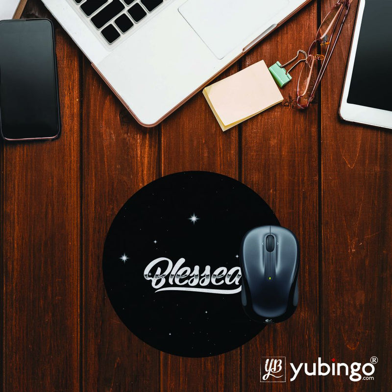 Blessed Mouse Pad (Round)