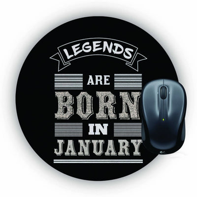 Customised Legends Mouse Pad (Round)
