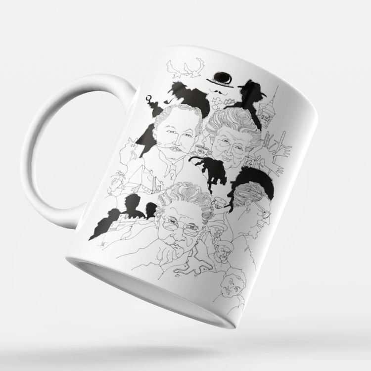 Indro's Art Great Detectives Coffee Mug