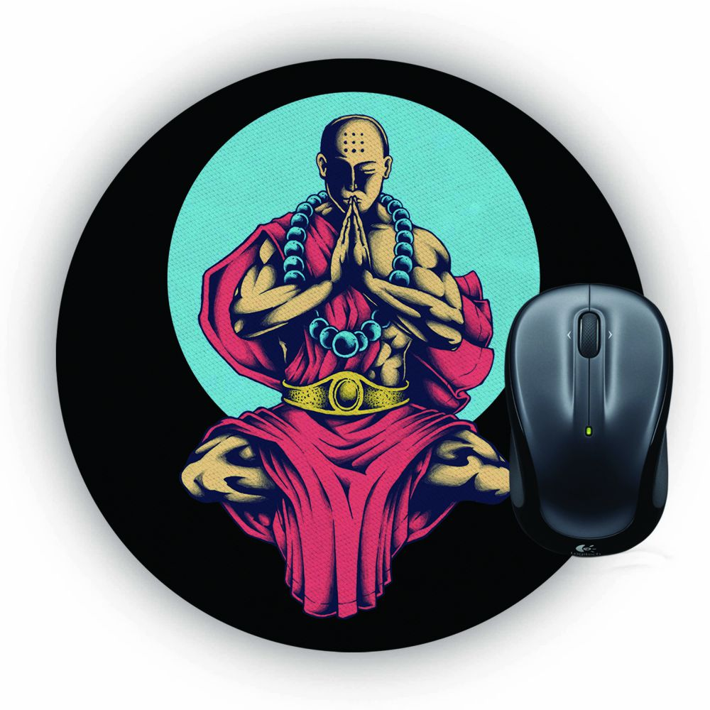 Inner Peace Mouse Pad (Round)