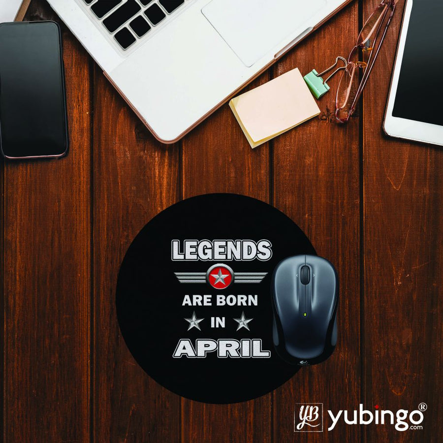 Legends Customised Mouse Pad (Round)