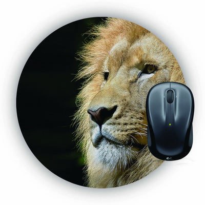 Lion Mouse Pad (Round)