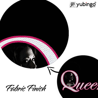 Queen's Photo Mouse Pad (Round)-Image3