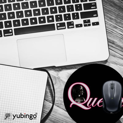 Queen's Photo Mouse Pad (Round)-Image4