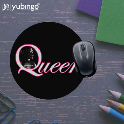 Queen's Photo Mouse Pad (Round)-Image5