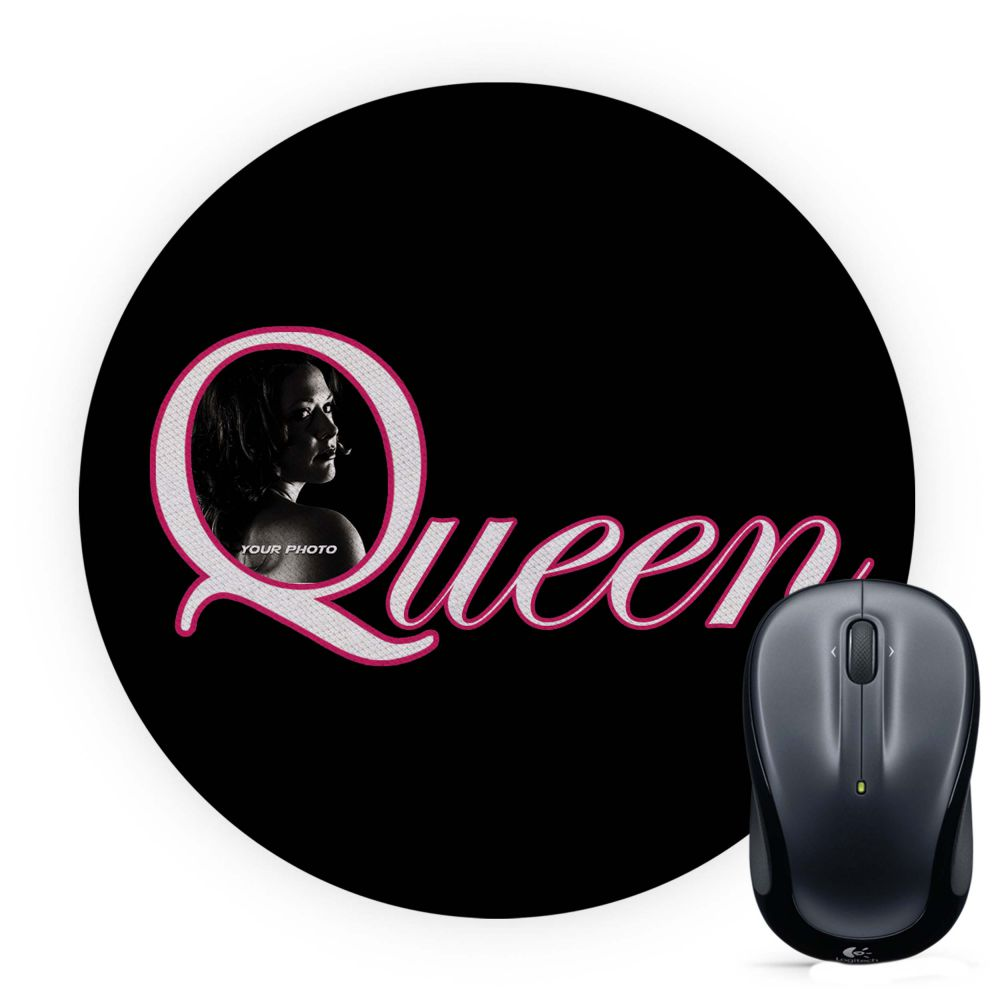 Queen's Photo Mouse Pad (Round)