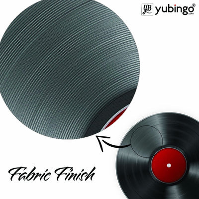 Record Player Mouse Pad (Round)-Image3