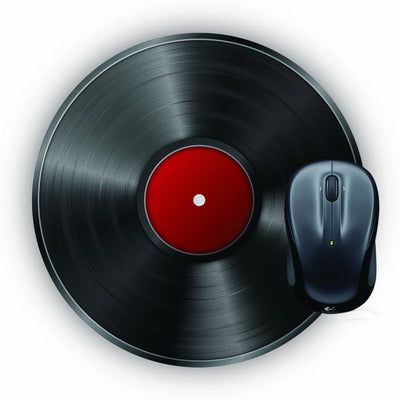 Record Player Mouse Pad (Round)