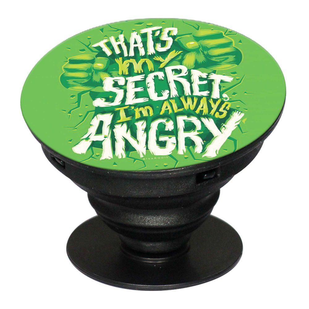 Secret I Am Always Angry Mobile Grip Stand (Black)