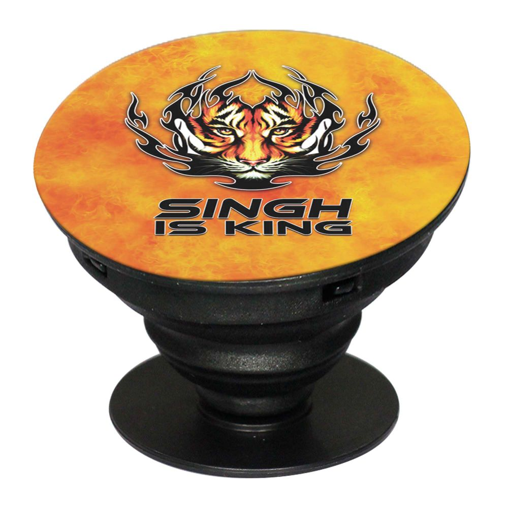 Singh Is King Mobile Grip Stand (Black)