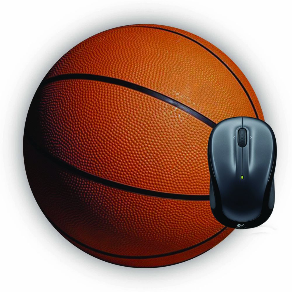 The Basketball Mouse Pad (Round)