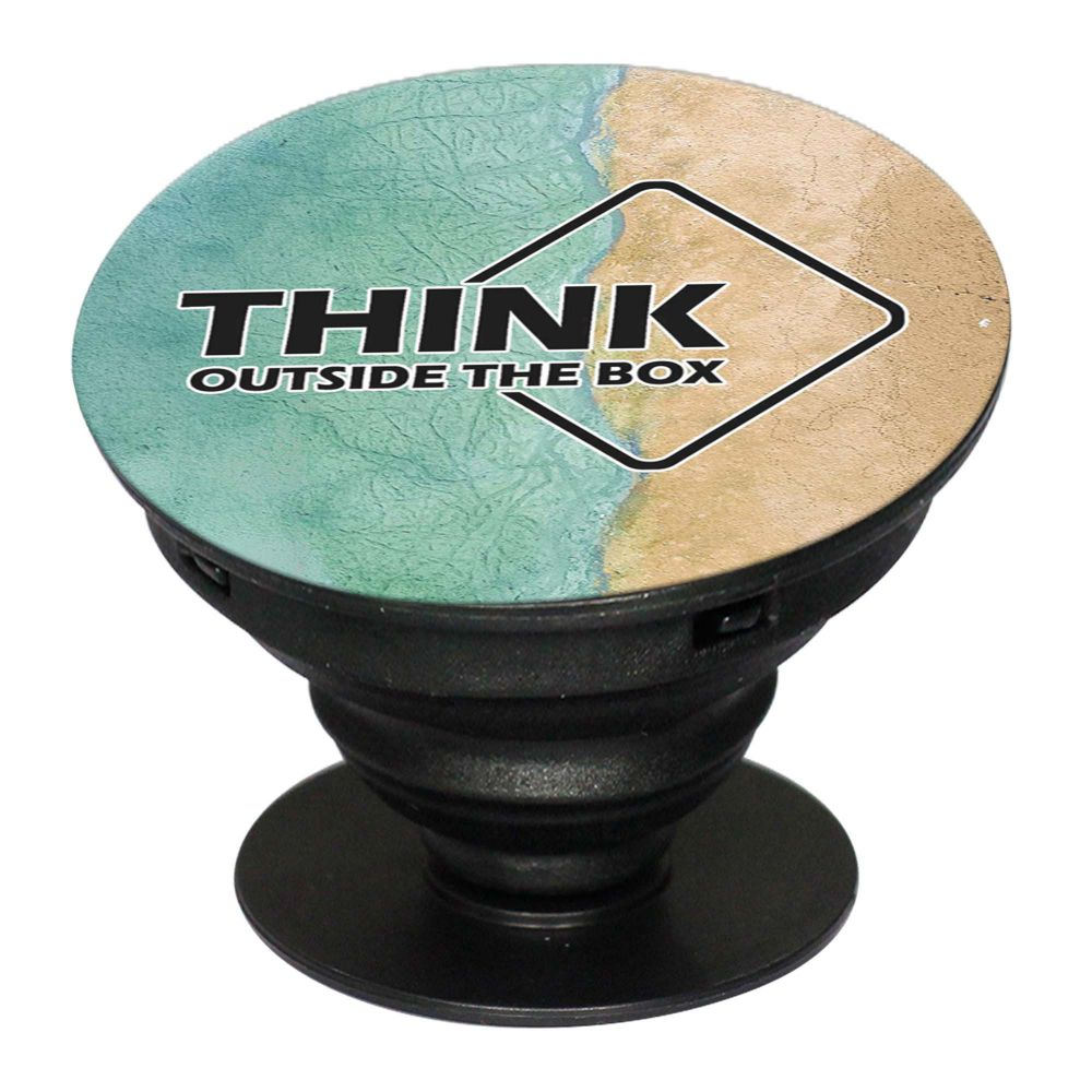 Think Outside The Box Mobile Grip Stand (Black)