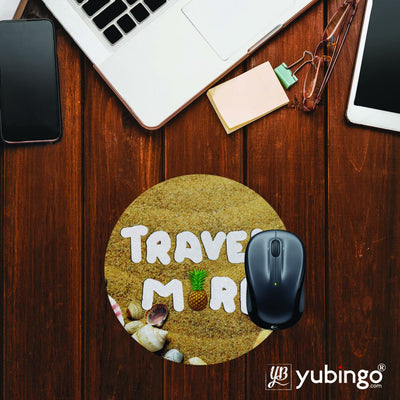 Travel More Mouse Pad (Round)-Image2