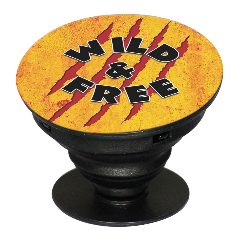 Wild and Free Mobile Grip Stand (Black)