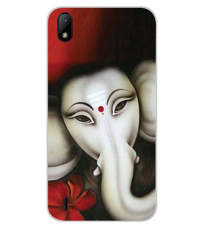 Calm Ganesha Back Cover for Lava Z41