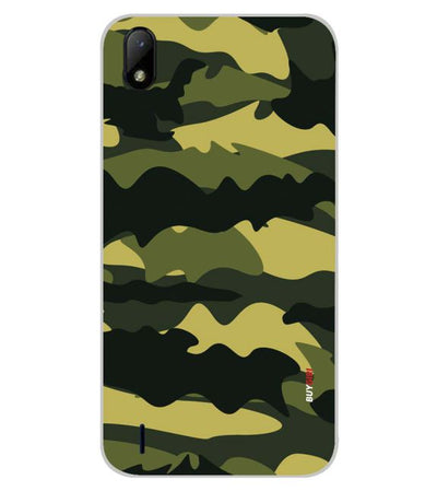 Camouflage Back Cover for Lava Z41