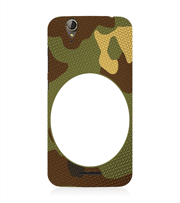 Camouflage Photo Back Cover for Acer Liquid Zade 630