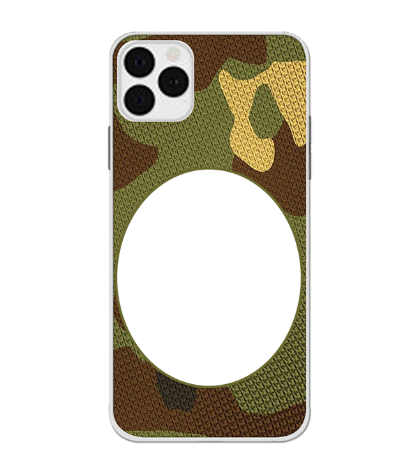 Camouflage Photo Back Cover for Apple iPhone 11 Pro