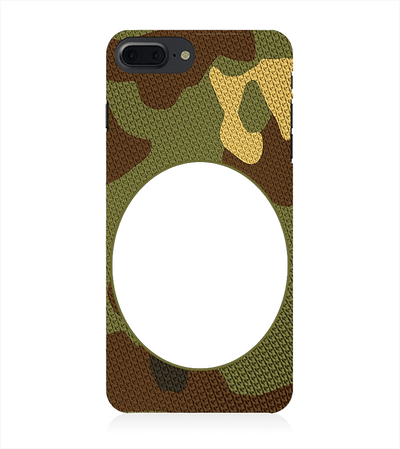 Camouflage Photo Back Cover for Apple iPhone 8 Plus