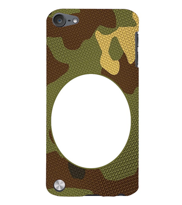 Camouflage Photo Back Cover for Apple iPod Touch 5
