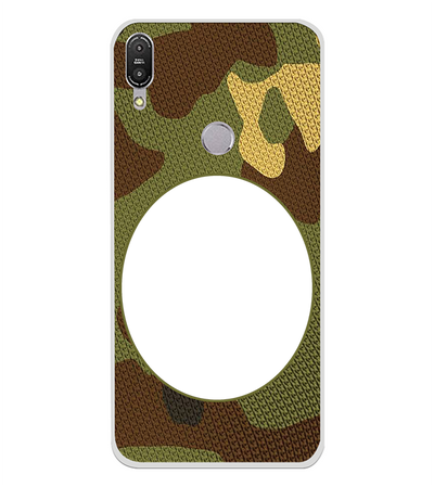 Camouflage Photo Back Cover for Asus Zenfone Max Pro M1