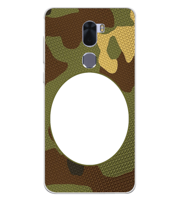 Camouflage Photo Back Cover for Coolpad Cool 1