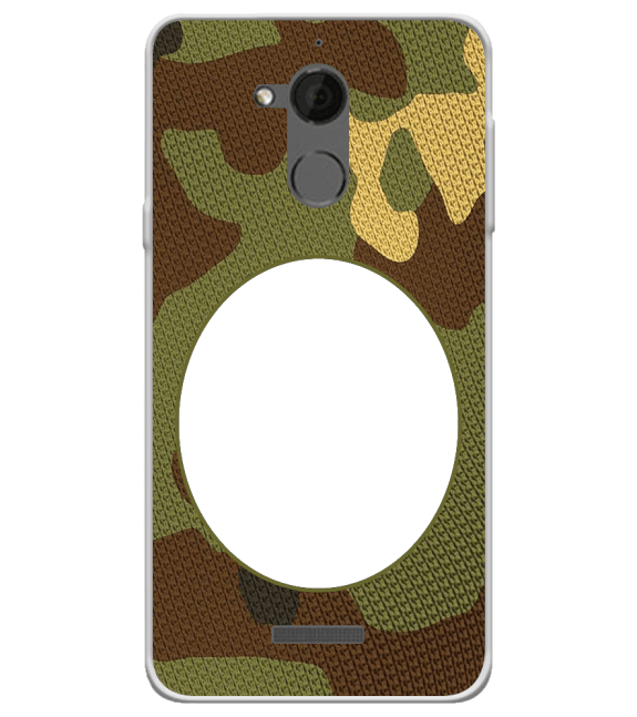 Camouflage Photo Back Cover for Coolpad Note 5