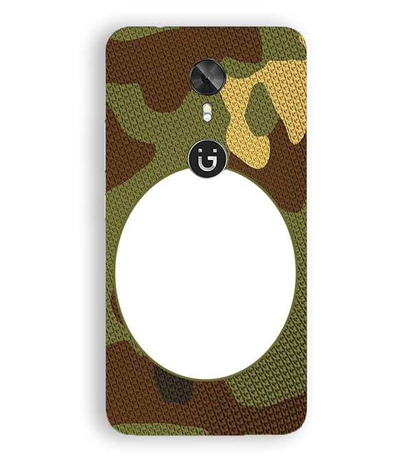 Camouflage Photo Back Cover for Gionee A1