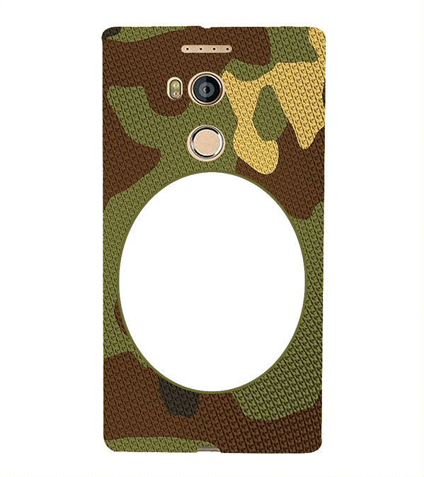 Camouflage Photo Back Cover for Gionee Elife E8