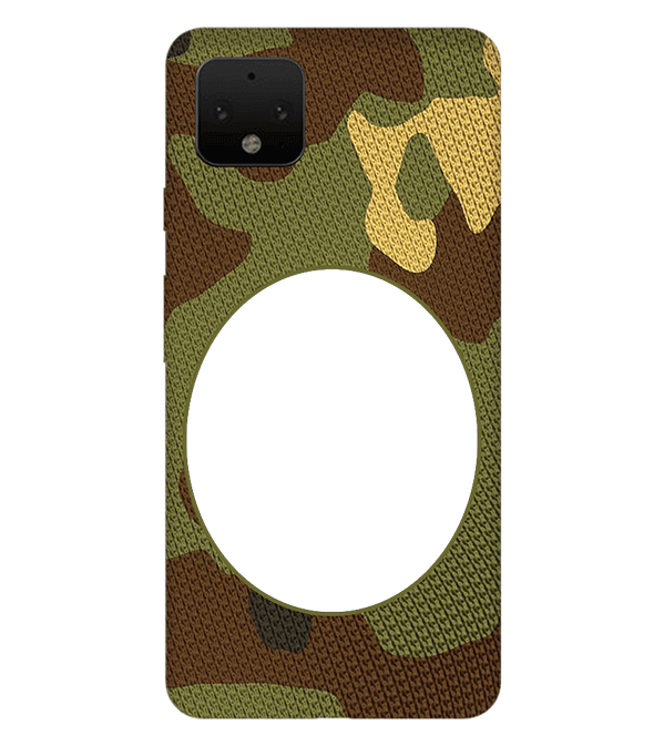 Camouflage Photo Back Cover for Google Pixel 4 XL
