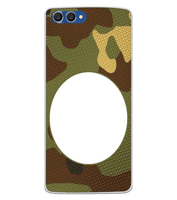 Camouflage Photo Back Cover for Homtom H3