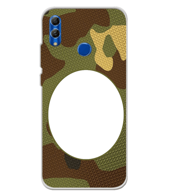 Camouflage Photo Back Cover for Honor 10 Lite